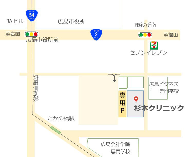杉本クリニック略図